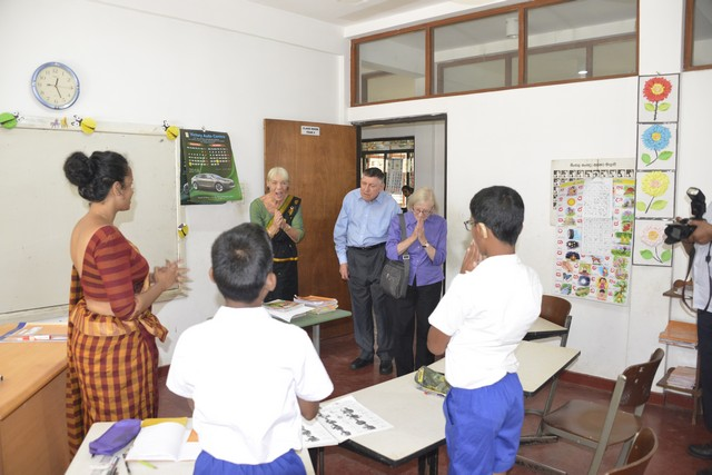 Visit of the DABAL Group from UK in our Deaf School on 25-09-2018.