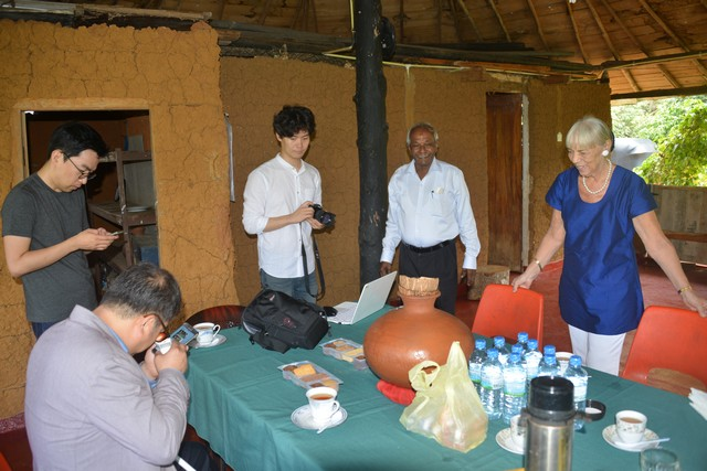A visit to the Estate in Mathugama with the Korean Team from the Siloam Center for the Blind, on 9-10-2016.