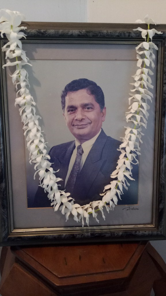 Mr. A.G.Lakshman Perera, Treasurer of the School Trust, passed away.
