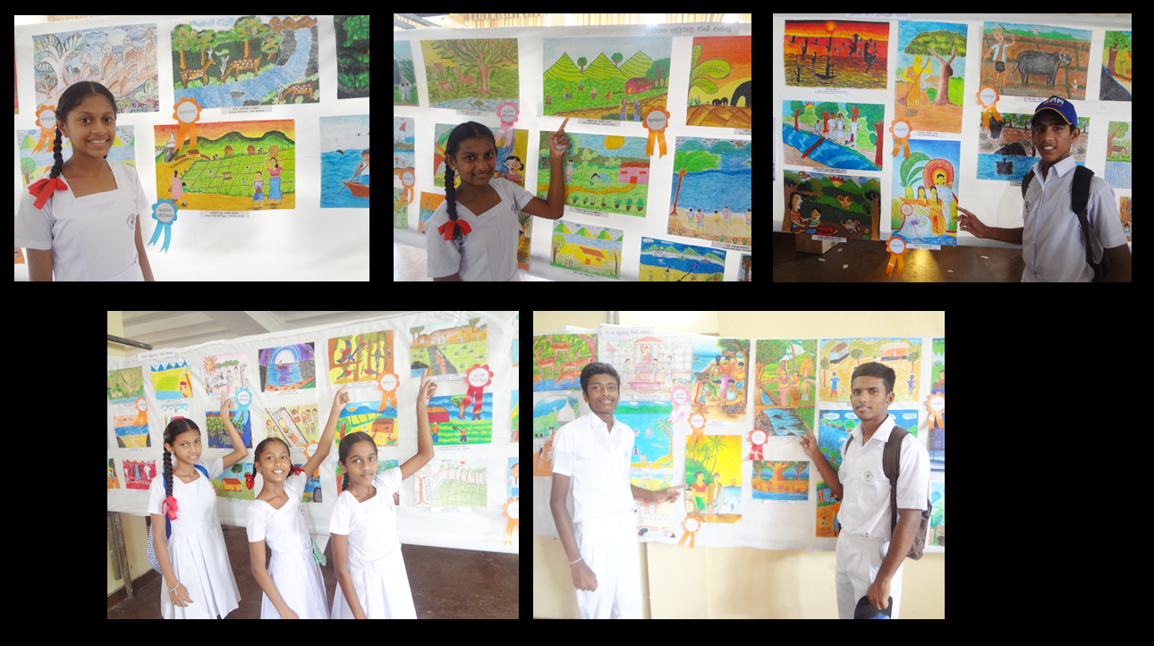 Prize Giving Program for Drawing Contest at Dehiwala for 8 of our deaf students, 27-05-2017