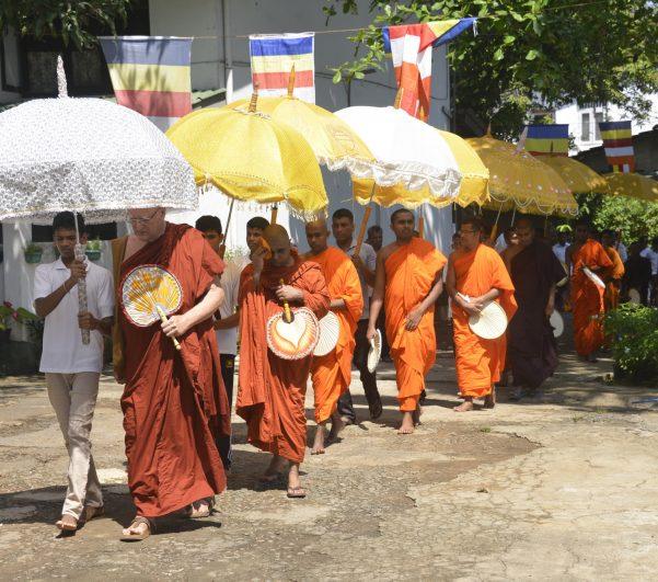 Jaarlijkse aanbieding van Maaltijd aan de Monniken